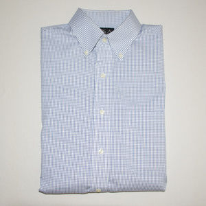 Jos. A. Bank Micro Checkered Print Dress Shirt